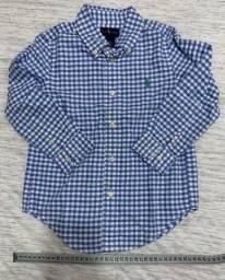 Camisa infantil Ralph Lauren TAM 4