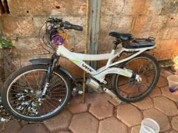 Bicicleta elétrica bateria nova   Troco  celular