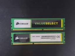 2x Memória Corsair 4GB, 1333MHz, DDR3, CL9 - CMV4GX3M1A1333C9
