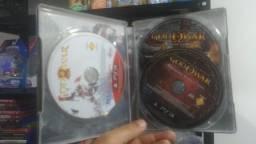 Jogo usado God of war Omega Collection 5 jogos + steelcase. retirada Portão