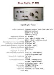 Rádio e Amplificador Plivox