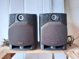 Par de caixa acústica aiwa modelo sx-fnv800