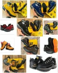 Vendo bota caterpillar lançamento ( 165 com entrega)