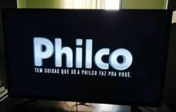 """TV 39"""" Philco LED ( NÃO É SMART) está nova pouco uso"""