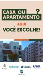 Casa ou Apartamento no Bairro Luiz Gonzaga?? Você escolhe!!