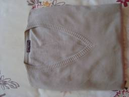 Blusa de lã - tamanho 4 sem mangas (colete), marca: Korrigan