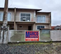 Sobrado Geminado para Venda em Balneário Barra do Sul, Salinas, 2 dormitórios, 1 suíte, 2