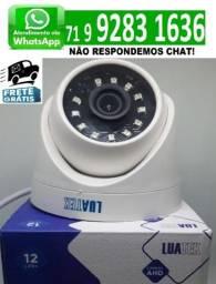 Câmera De Segurança Ou Vigilância 1080p Dome Luatek Lcm2420