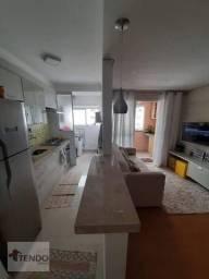 Apartamento com 2 dormitórios à venda, 54 m² por R$ 300.000 - Vila Noêmia - Mauá/SP