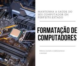 Formatação, Montagem e Instalação de Programas em Computadores