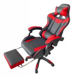 Título do anúncio: Cadeira Gamer Mitsuchair Vermelha Com Apoio Para Os Pés
