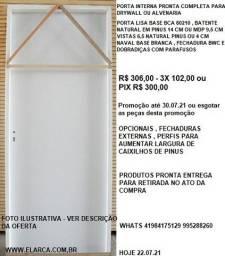 pt drywall ,alvenaria  int  completa 80 210+cx+vistas+dob+fech bwc