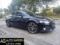 Audi A4 2011 Ambient 2.0 turbo aut/tip+toplinha+teto+couro+revisado+novíssimo!!!