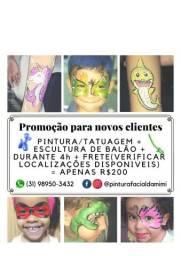 Pintura Facial Infantil