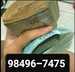Dinheiro = cartão