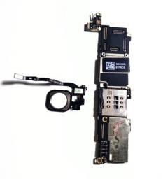 Placa mãe iPhone 5s 16gb iCloud livre, Com touch id