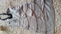 Lindo vestido tomara que caia de ótima qualidade