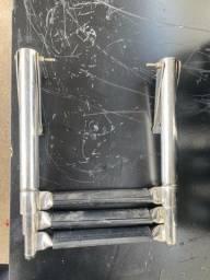 Escada náutica para lancha 3 degraus