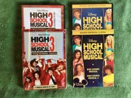 Box de DVD High School Musical 2 e 3