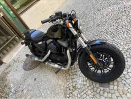 Harley Davidson Sportster Forty Eight Green Army