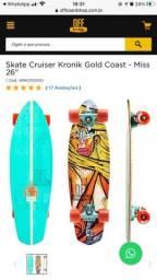 Skate long cruiser kronik gold coast novo