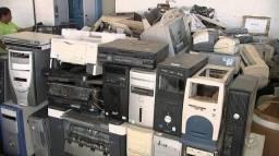 Sucata eletrônica e informatica