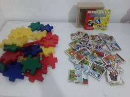 Kit com 2 jogos infantis