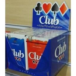 Caixa 12 Baralhos Club 54 Cartas Poker Truco Buraco