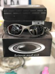 Oculos Oakley Double X Black Iridium Lente