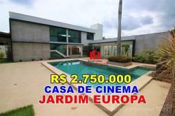 Jardim Europa Casa 500m² 5 Suítes