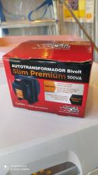 Autotransformador 500VA Bivolt Slim Premium