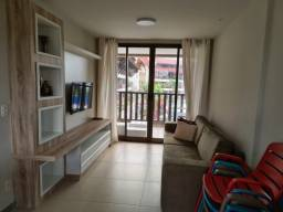 2Aht- Condomínio Oka Beach Residence, Muro Alto, 2qts(1 Suíte), 62m2, Mobiliado.