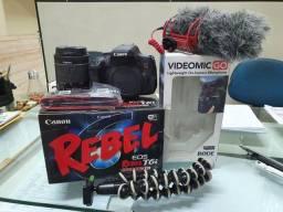 Canon EOS Rebel T6i muito nova