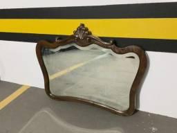 Moldura de espelho em imbuia