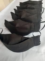 Máscaras 3D de tecido laváveis