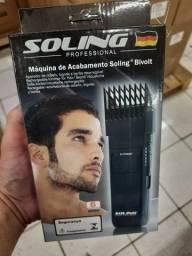 Máquina acabamento barba cabelo Soling
