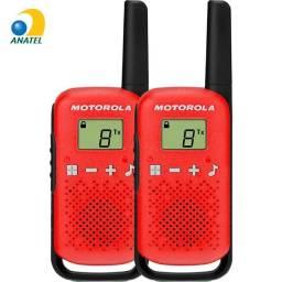Rádio Comunicador Talkabout 25km T110BR Vermelho - Motorola