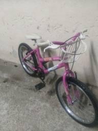 Vendo bicicletas aro 20 feminina aceito cartão