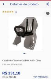 Cadeirinha Traseira Kid Bike