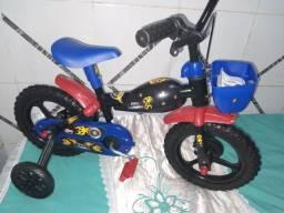 Bicicleta motobike aro12 nova