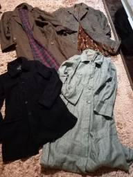 Lote Casacos e jaquetas Inverno