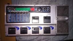 Pedaleira Digitech Gnx-2 [kelmer Music] + Pedal De Bumbo Duplo Adah