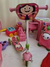 Patinete Infantil Show da Luna - Super Conservado!