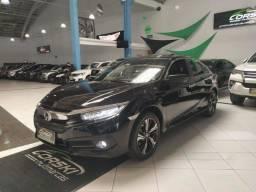 Honda Civic 2017 Touring 1.5 turbo Tirado no Paraná baixo Km Periciado