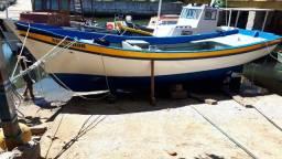 Barco muito bom de mar, excelente para pescar anchovas