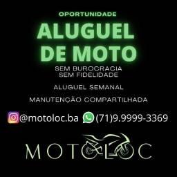 Alguel de Moto Honda Fan 125