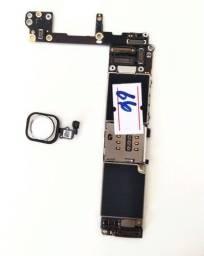 Placa mãe iPhone 6s 64gb iCloud livre, Com Touch id