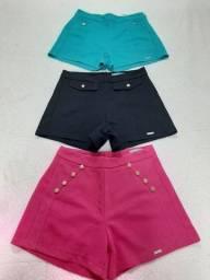 3 shorts feminino n.38 por 40.00