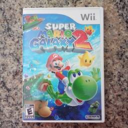 Super Mario Galaxy 2 p/ Wii completo e pouco usado