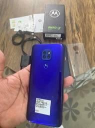 Moto g9 play zero completo V/T aceito cartão